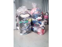 Used Second Hand Clothing Bundles 30 kg Sacks British Brands Quality