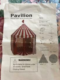 Child's Play Tent