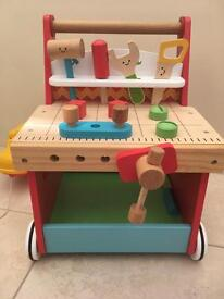Children's work bench