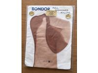 Genuine vintage fully fashioned seamed nylon stockings. New old stock.