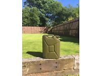 Military style 20 litre jerry cans