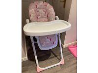 Katie Piper Unicorn High Chair