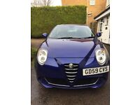 2010 Alfa Mito 1.4 Turismo FSH 58K lady owners 3 mint PX /Swaps considered £3995 ono