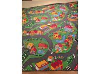 NEW! LARGE ROADS CHILDREN'S RUG CARPET /kid's road play mat/ 3 x 4 Meter