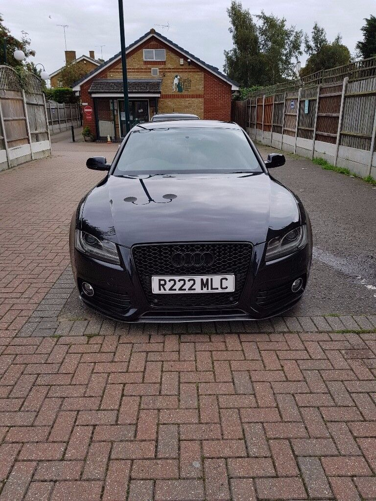 Audi A5 S-line Sportback Quattro 211 BHP All in black. Px: BMW 3 SERIES | in Westcliff-on-Sea ...