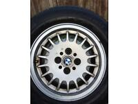 Bmw e30 r14 alloys and tyres