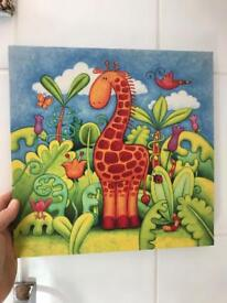 Cute giraffe picture