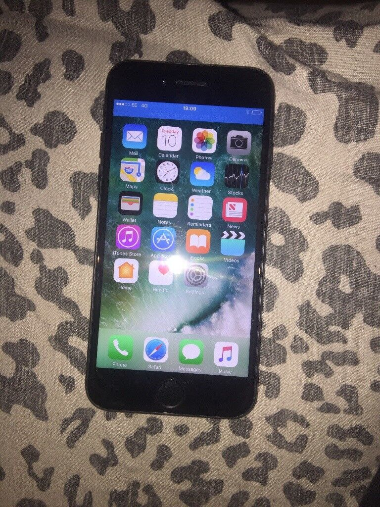 Iphone7 jet black 32gb