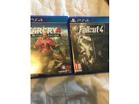 Fallout 4 & Far Cry 4 PS4