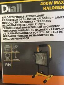 HALOGEN LAMP, boxed brand new