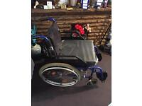 Wheelchair folds to go in car