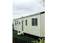 3 bed/8 berth caravan for hire- Cala gran haven caravan park Blackpool area - £50pw