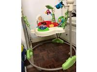 Fisher-Price K7198 Jumperoo Deluxe Calming Vibrations Soother