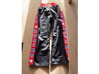 Kick boxing/martial arts trousers and top (Gi)