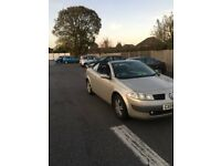 £650 2005 RENAULT MEGANE DYNAMIQUE 1.6 VVT115 HARD TOP CONVERTIBLE UNWANTED PART EXCHANGE TO CLEAR