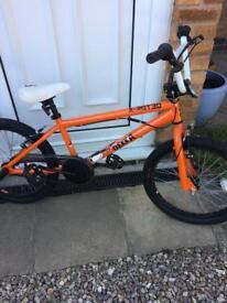 """Full size Bmx bike 20"""" wheels 360 bars like new"""