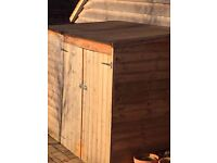 2nd Hand Garden Shed 7ft (W) x 4ft (D) x 5ft (H) -SOLD