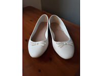 SALE! White Ballet Shoes (weddings) NEED TO GO QUICKLY!