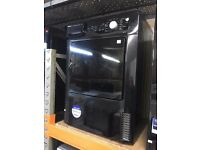 BEKO 6KG CONDENSER DRYER BLACK RECONDITIONED