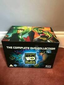Ben 10 (Alien Force) DVD Box Set.