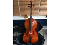 Full size student cello. Prima 200