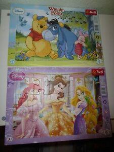 3 Rahmenpuzzles : Disney-Winnie Puuh Prinzessin Conni - je 15 Teile -TOP - Gerasdorf bei Wien, Österreich - 3 Rahmenpuzzles : Disney-Winnie Puuh Prinzessin Conni - je 15 Teile -TOP - Gerasdorf bei Wien, Österreich