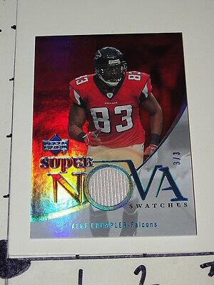 8d69c443de Alge Crumpler: 2007 Trilogy Supernova #3/3 - Falcons - North Carolina Tar  Heels