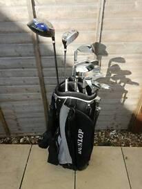 Dunlop full set golf clubs