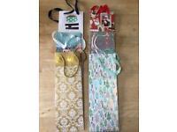 Christmas gift bottle bags