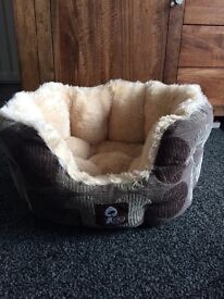Small beautiful dog bed