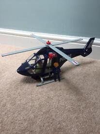 Playmobil 5183 police helicopter