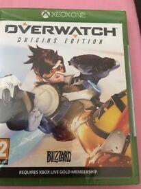 "XBOX ONE "" OVERWATCH"" GAME - BRAND NEW!"