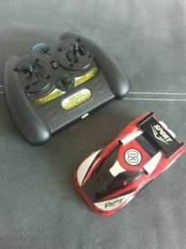 Wall Climber Remote Control Car & Hot Wheels Transporter