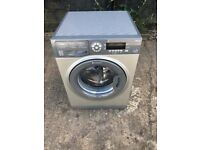 Hotpoint SWMD9437 9kg 1400 Spin Washing Machine in Silver #4907