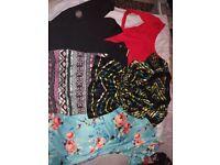 Bundle of size 12-14 clothes