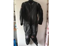 Mens one piece motorcycle leathers