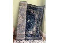 Vintage patterned large rug