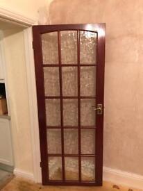 Wooden window internal doors (Pair)