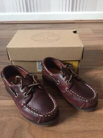 Genuine boys Timberland shoes with box