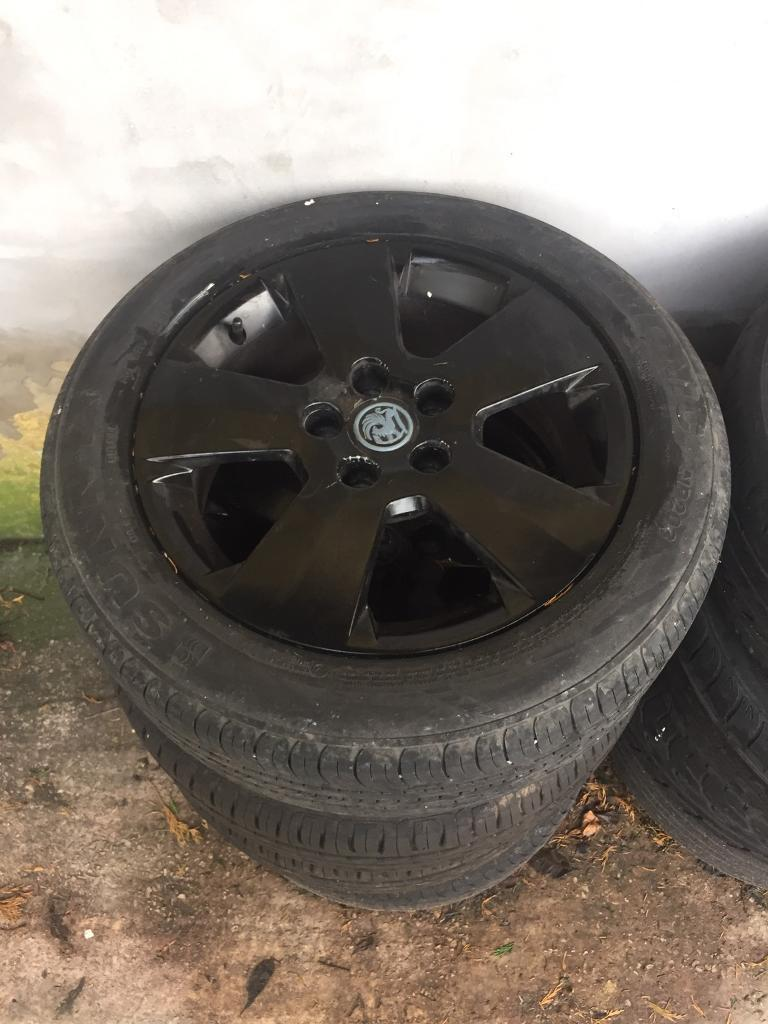 Vauxhall Vector Alloys