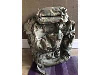 Military rucksack Bergen £200 Ono