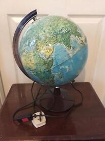 Globe lamp vintage retro