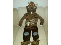 Gruffalo dressing up aged 3-4