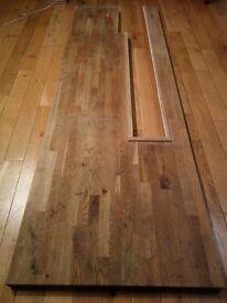 Solid oak tabletop
