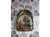 JCB LED light up backpack BNWT