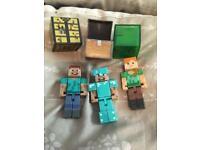 Minecraft, girls toys, boys toys, Sophia, wwe wrestling