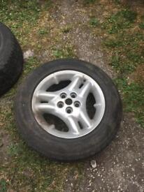 Range Rover pr td5 wheels