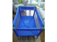 TRAVEL COT by Mothercare 'Sleep & Go'