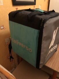 Deliveroo bag Small and large bag.