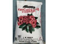 Marsh's Compost Ericaceous 40 Litres Bags